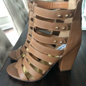 Steve Madden Strappy Sandals Size 10 worn once